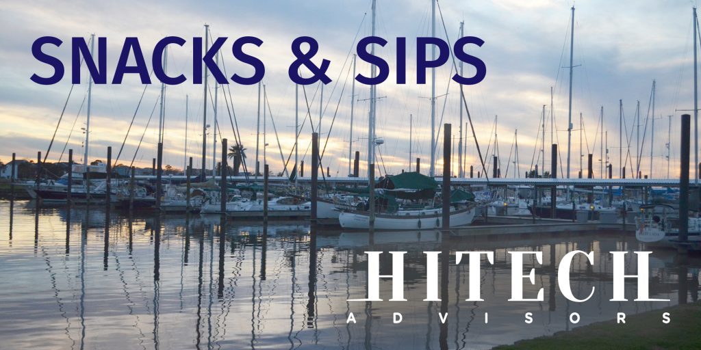 Snacks & Sips on Lake Union: Tuesday, February 26, 2019