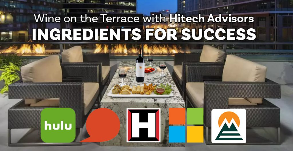 Wine on the Terrace ~ Ingredients for Success: Tuesday, August 13, 2019
