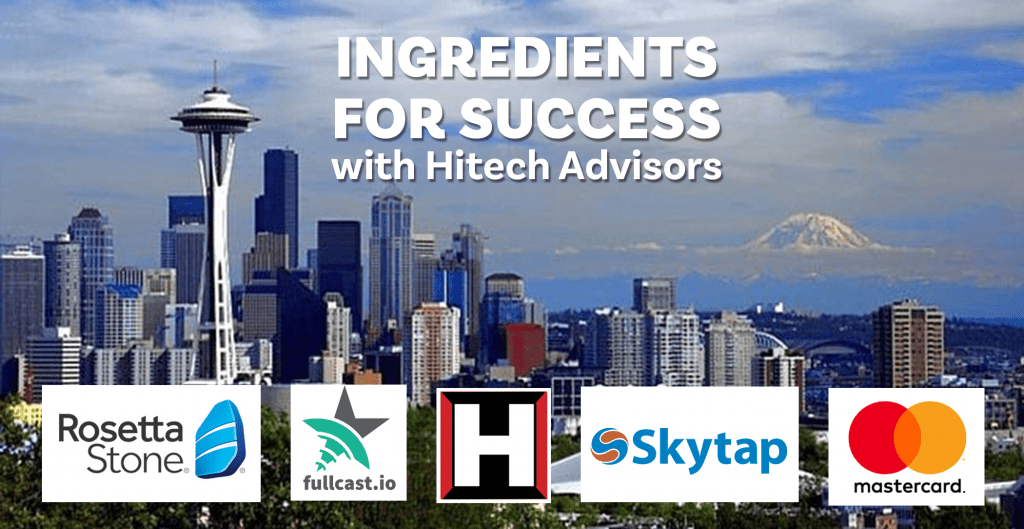 Ingredients for Success: Wednesday, November 6, 2019